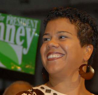 Rosa Clemente, accepting the Green Party nomination for Vice President, 2008