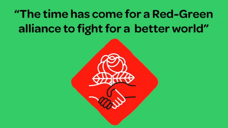 Image result for pics of red green alliance