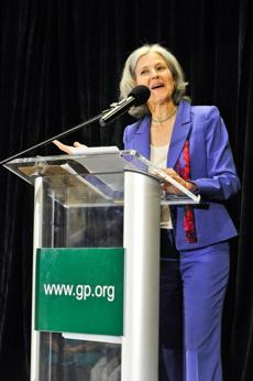 photo of Jill Stein by Laura-Chase Mcgehee/Associated Press